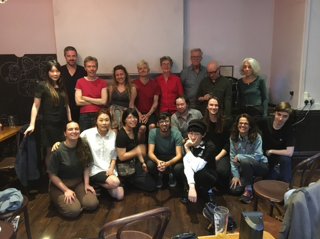 Group show filmmakers 1st July 2019